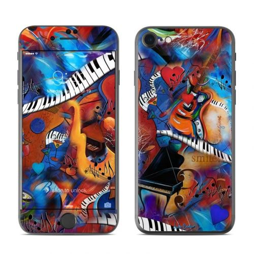 Music Madness iPhone 8 Skin