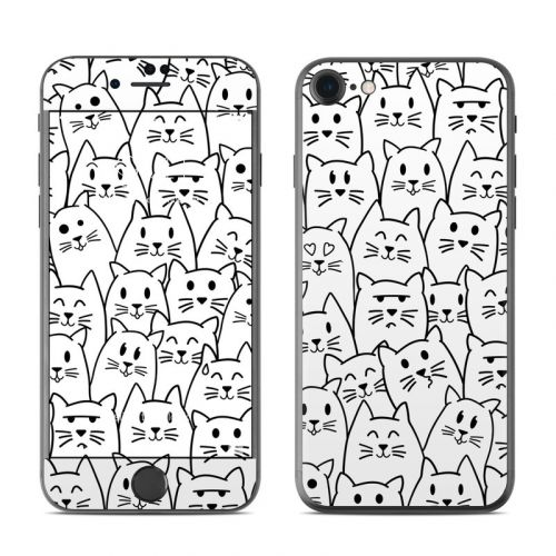 Moody Cats iPhone 8 Skin