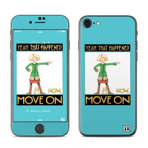 Move On iPhone 8 Skin