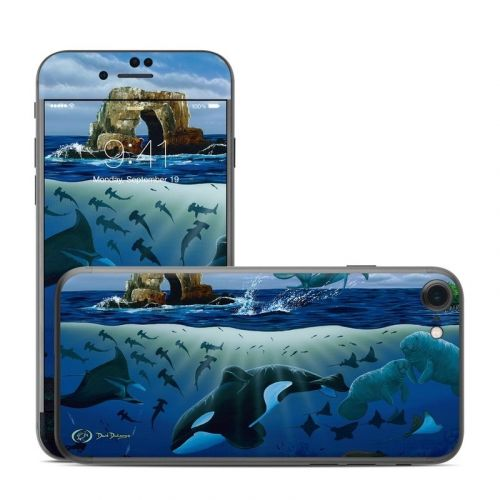 Oceans For Youth iPhone 8 Skin