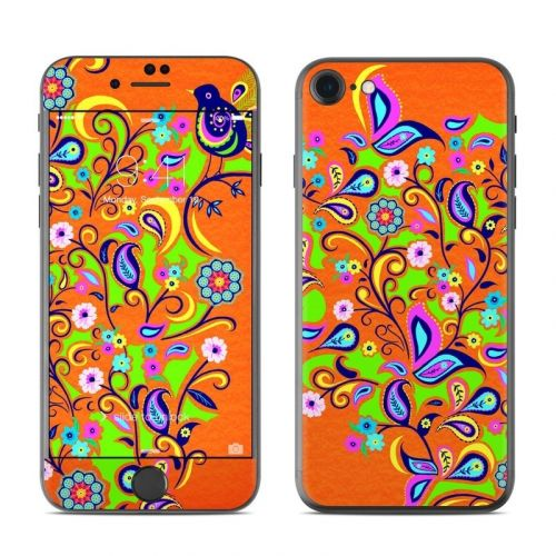 Orange Squirt iPhone 8 Skin