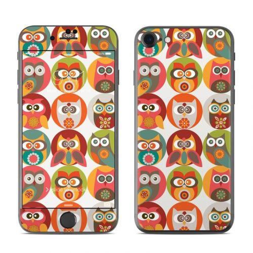 Owls Family iPhone 8 Skin