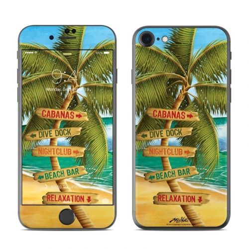 Palm Signs iPhone 8 Skin