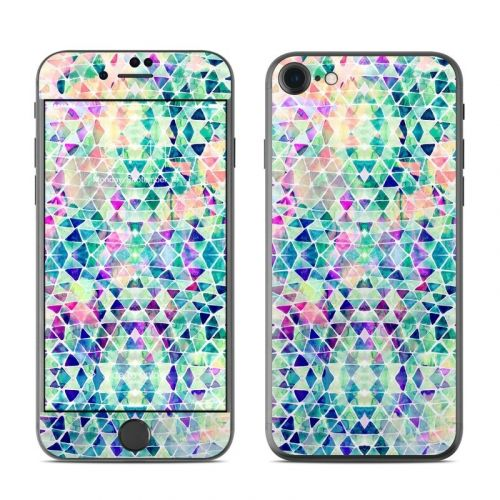 Pastel Triangle iPhone 8 Skin