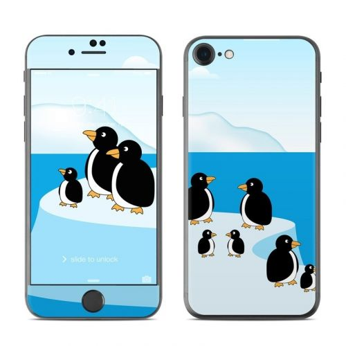 Penguins iPhone 8 Skin