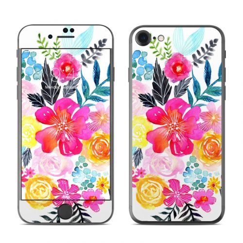 Pink Bouquet iPhone 8 Skin