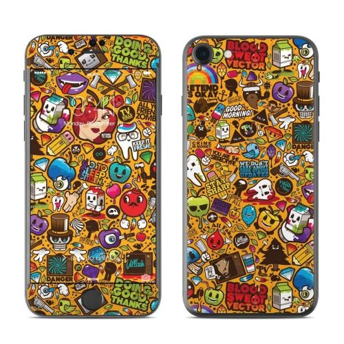 Psychedelic iPhone 8 Skin