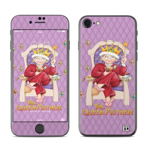 Queen Mother iPhone 8 Skin