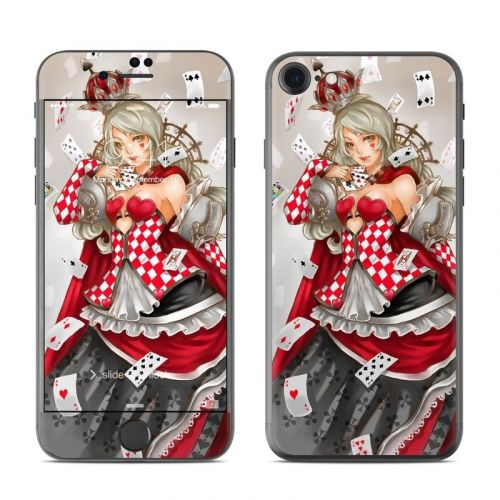 Queen Of Cards iPhone 8 Skin