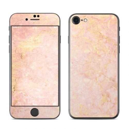 Rose Gold Marble iPhone 8 Skin