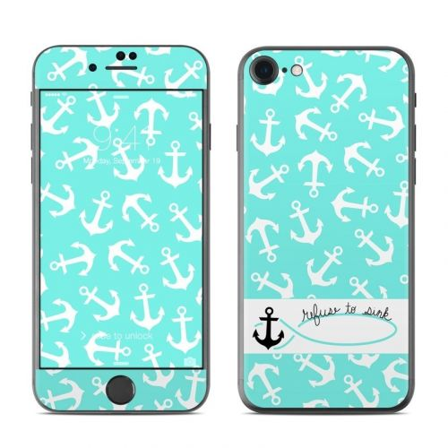 Refuse to Sink iPhone 8 Skin