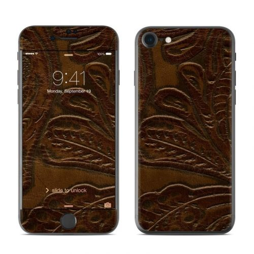 Saddle Leather iPhone 8 Skin