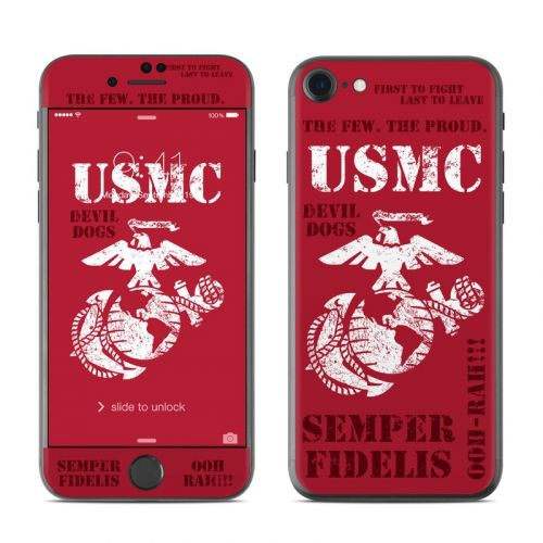 Semper Fi iPhone 8 Skin