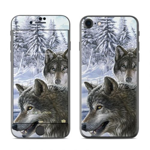 Snow Wolves iPhone 8 Skin