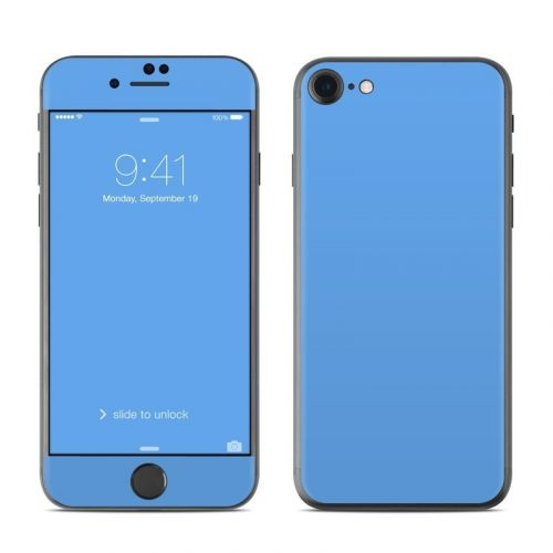Solid State Blue iPhone 8 Skin