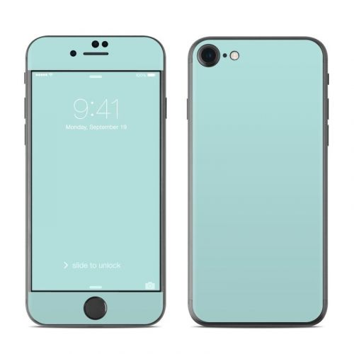 Solid State Mint iPhone 8 Skin