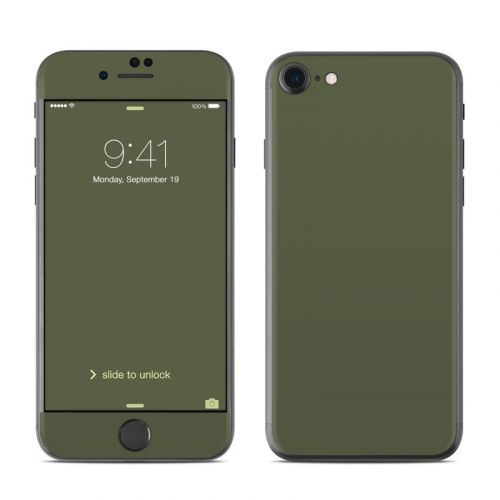 Solid State Olive Drab iPhone 8 Skin