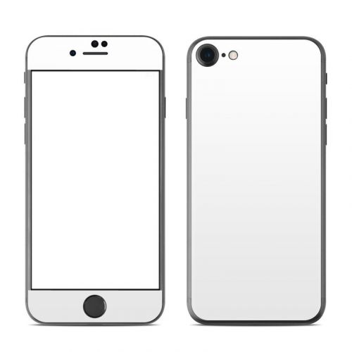 Solid State White iPhone 8 Skin