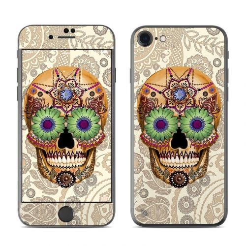 Sugar Skull Bone iPhone 8 Skin