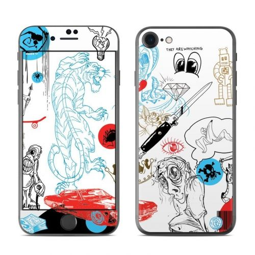 Tattoo Ink iPhone 8 Skin
