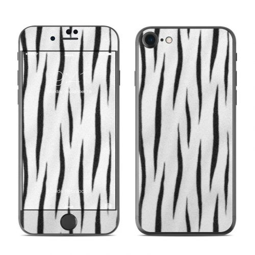 White Tiger Stripes iPhone 8 Skin