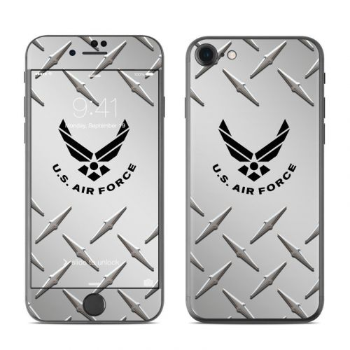 USAF Diamond Plate iPhone 8 Skin