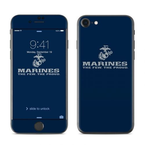 USMC Blue iPhone 8 Skin