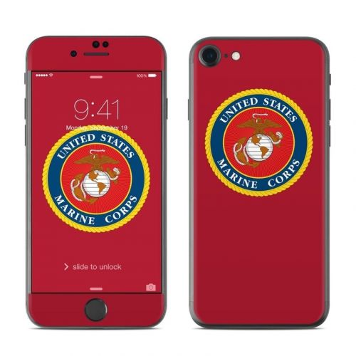 USMC Red iPhone 8 Skin