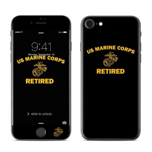 USMC Retired iPhone 8 Skin