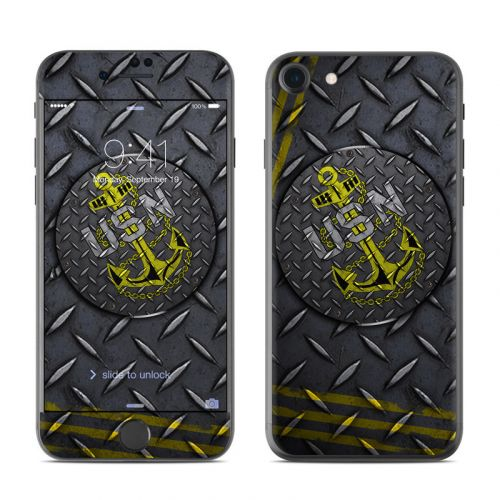USN Diamond Plate iPhone 8 Skin