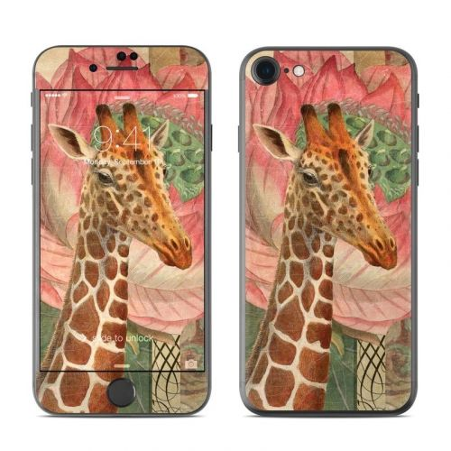 Whimsical Giraffe iPhone 8 Skin