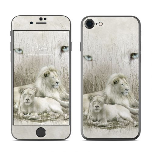 White Lion iPhone 8 Skin