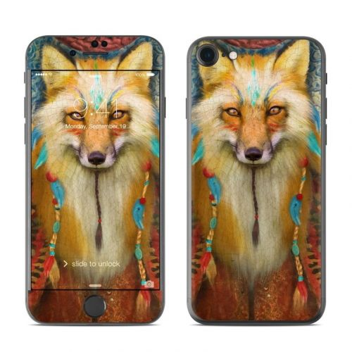 Wise Fox iPhone 8 Skin