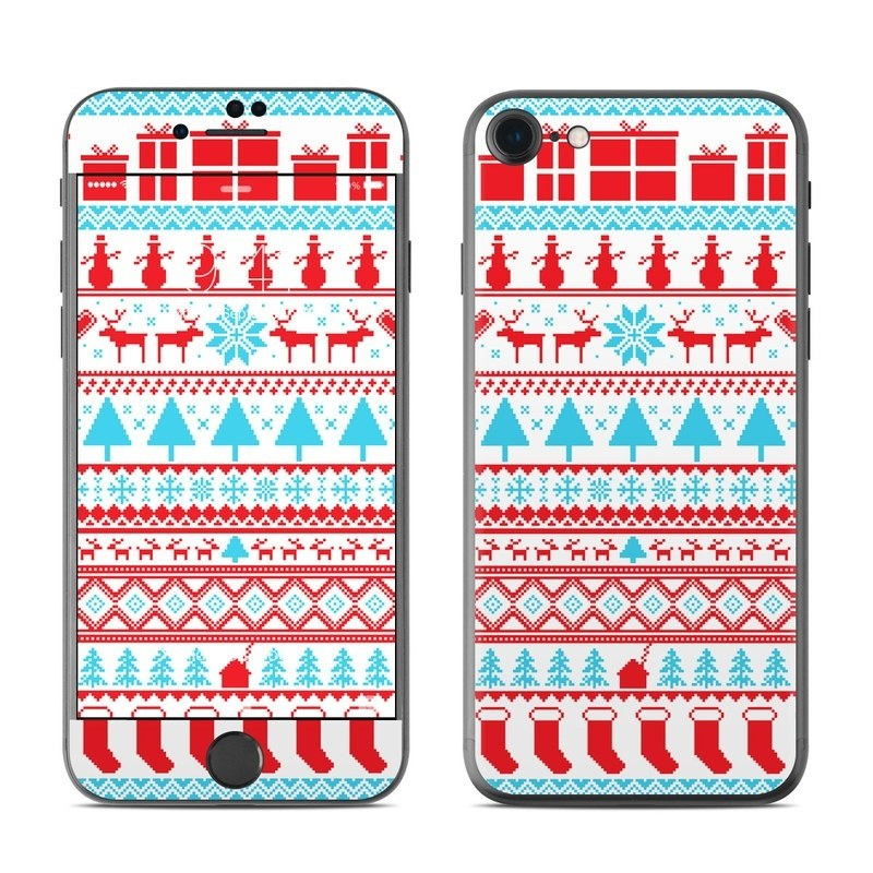 Comfy Christmas iPhone 8 Skin