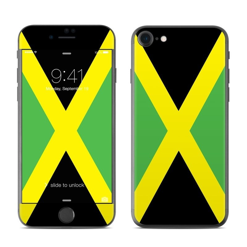 Jamaican Flag iPhone 8 Skin