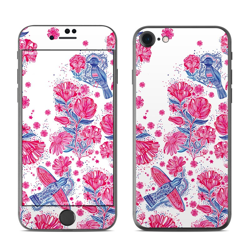 Freedom Flowers iPhone 8 Skin