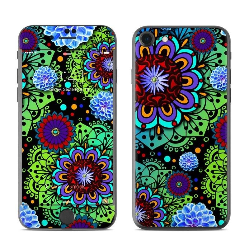 Funky Floratopia iPhone 8 Skin