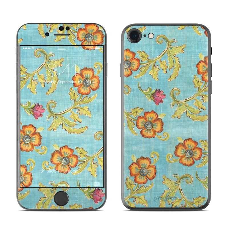 Garden Jewel iPhone 8 Skin