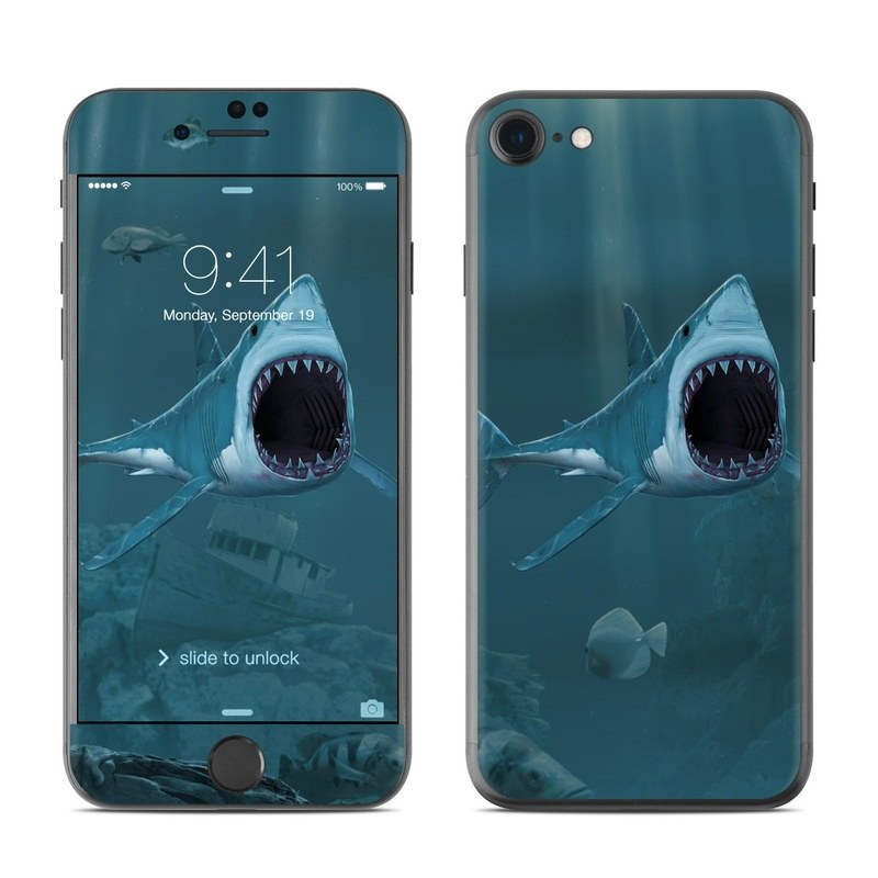 Great White iPhone 8 Skin