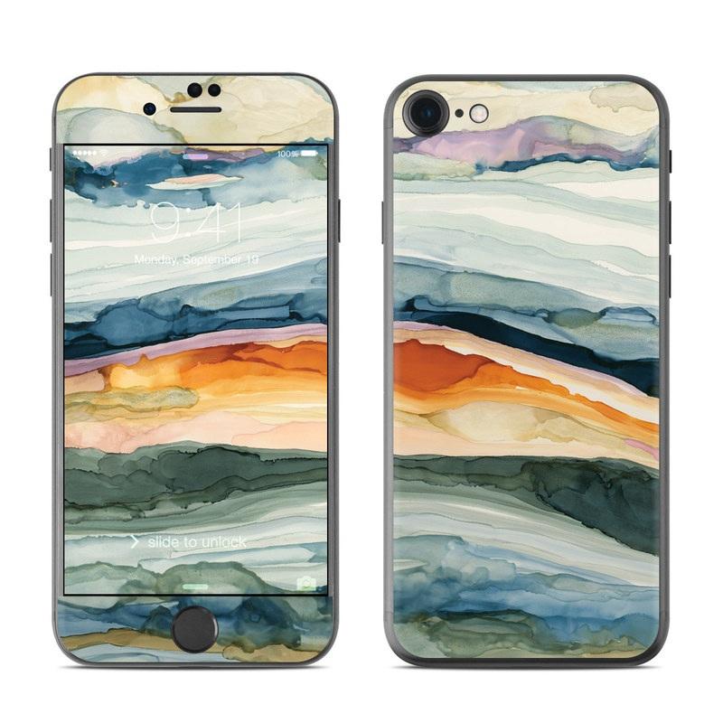 Layered Earth iPhone 8 Skin