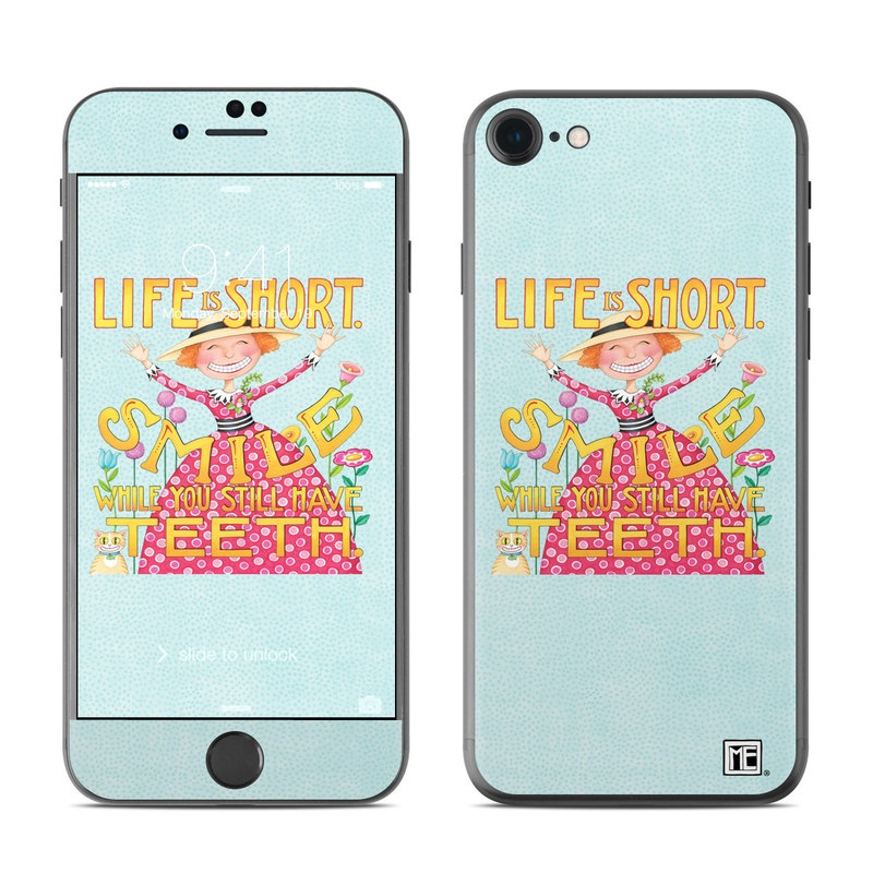 Life is Short iPhone 8 Skin