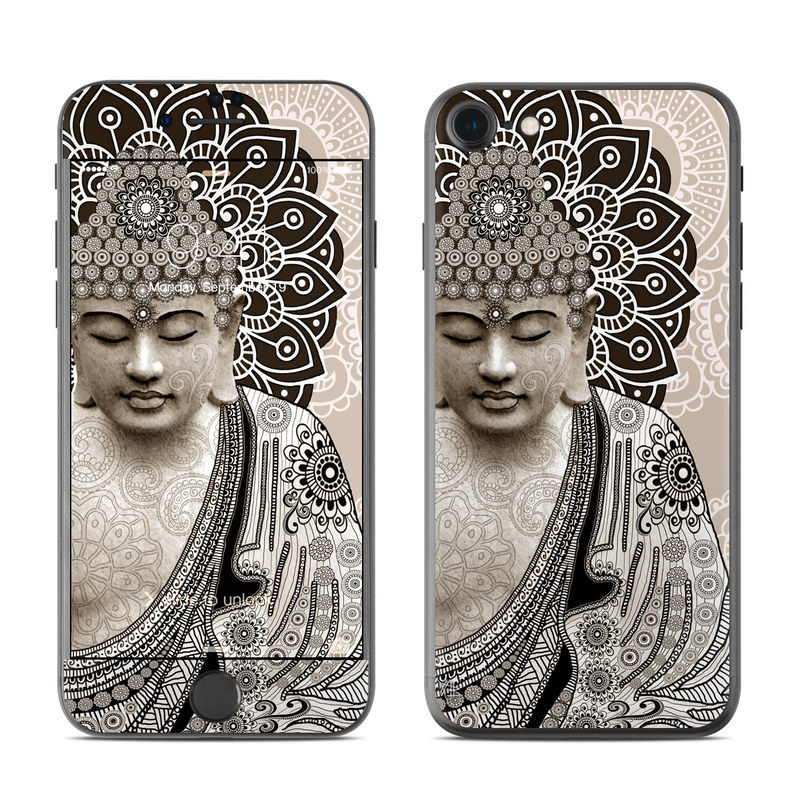 Meditation Mehndi iPhone 8 Skin