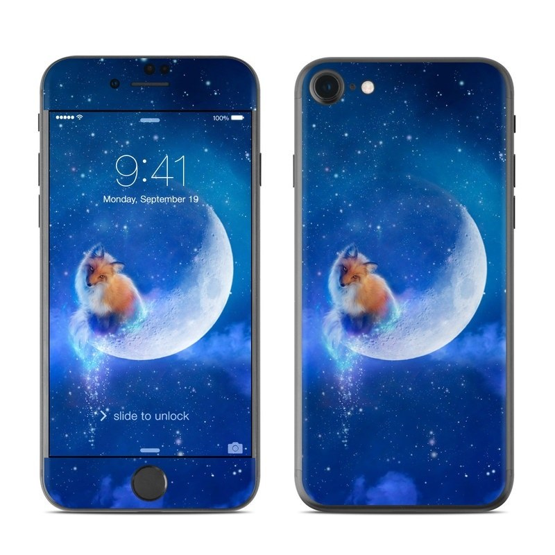 iPhone 8 Skin design of Sky, Atmosphere, Astronomical object, Outer space, Space, Universe, Illustration, Nebula, Galaxy, Fictional character with blue, black, gray colors