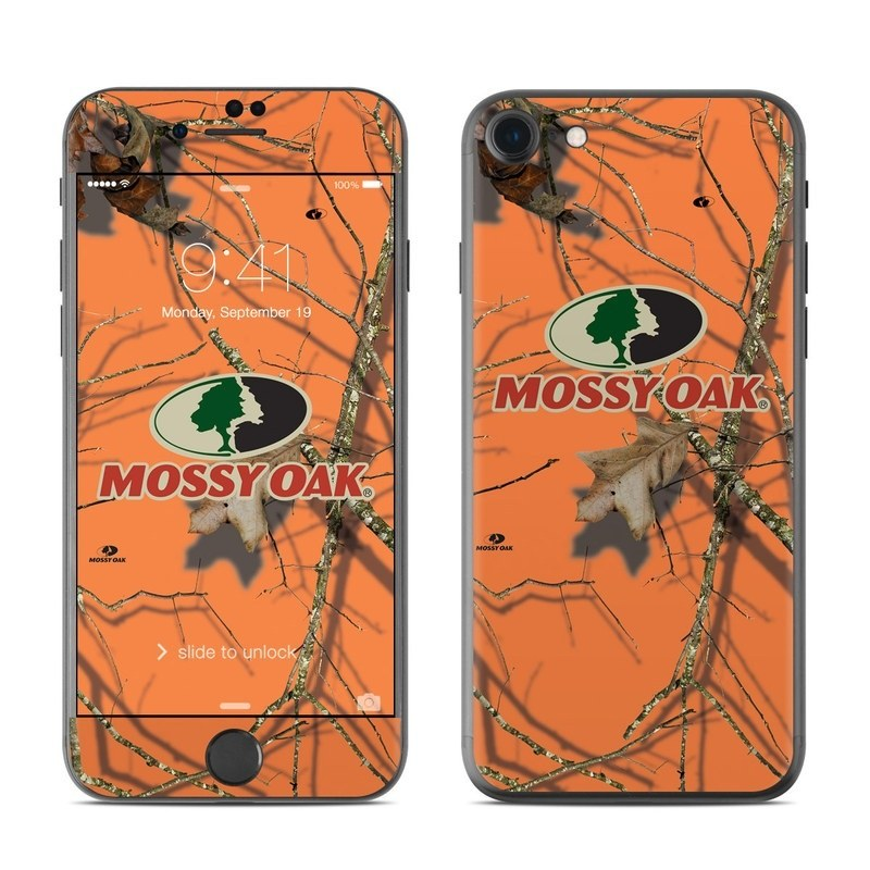 iPhone 8 Skin design of Tree, Botany, Branch, Root, Plant, Illustration, Adaptation, Art, Graphic design, Drawing with orange, green, red, black, gray colors