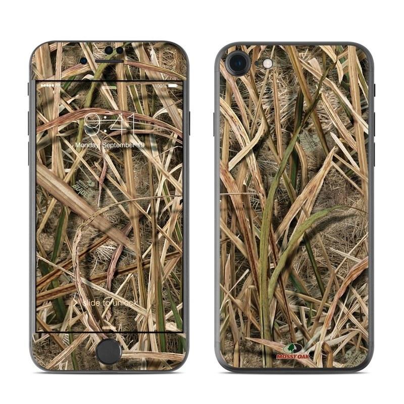 Shadow Grass Blades iPhone 8 Skin