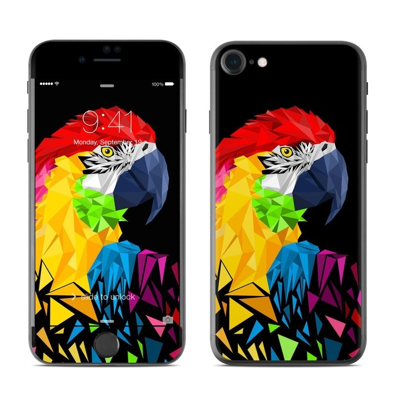 Parrots Hate Jets iPhone 8 Skin