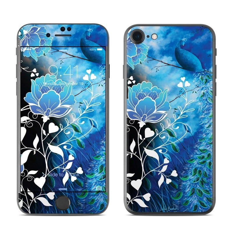 Peacock Sky iPhone 8 Skin