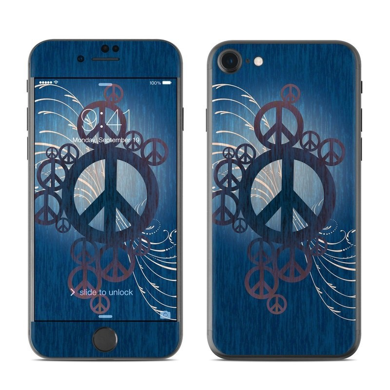 Peace Out iPhone 8 Skin