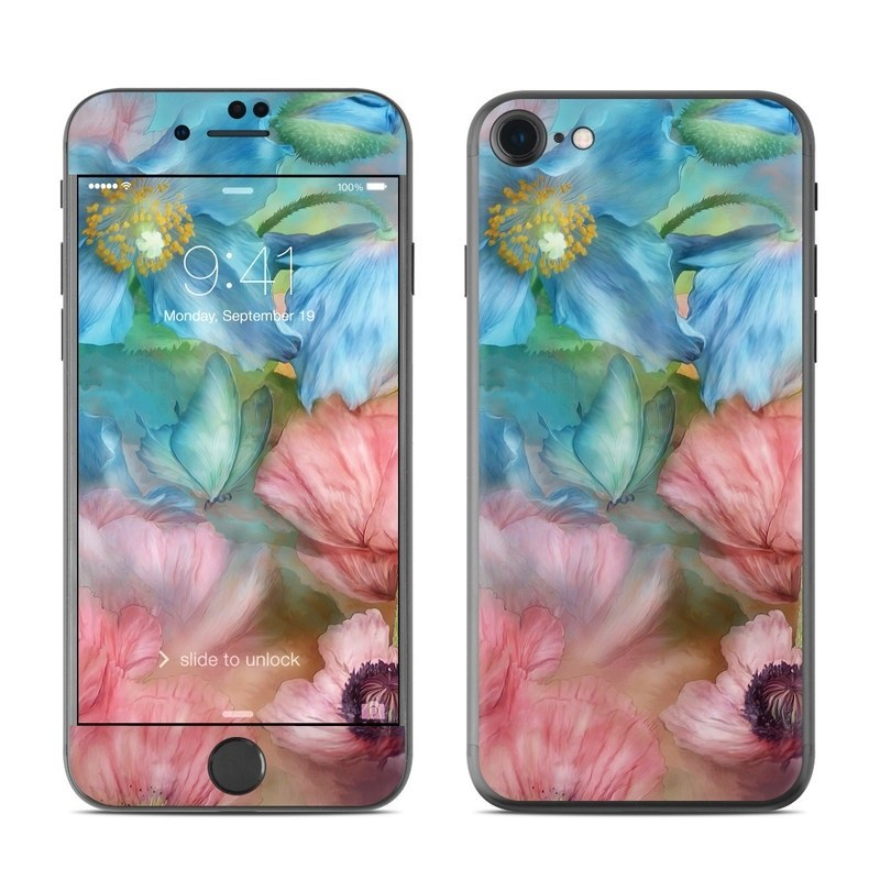 Poppy Garden iPhone 8 Skin
