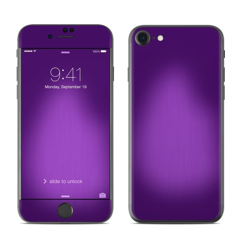 iPhone 8 Skin design of Violet, Purple, Lilac, Pink, Magenta, Wallpaper with black, purple, blue colors